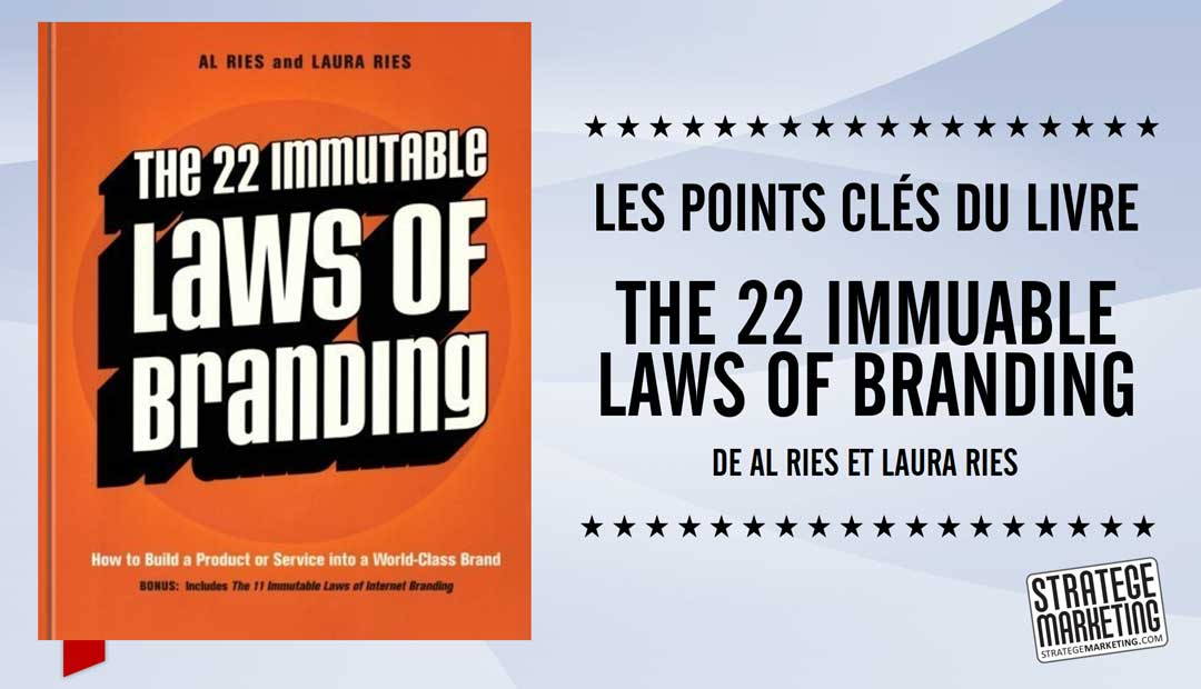 The 22 immuable laws of branding (22 lois du marketing) – les points clés du livre