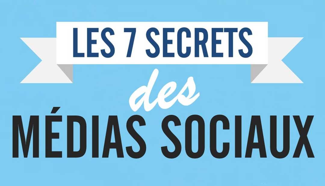 Les 7 secrets des médias sociaux