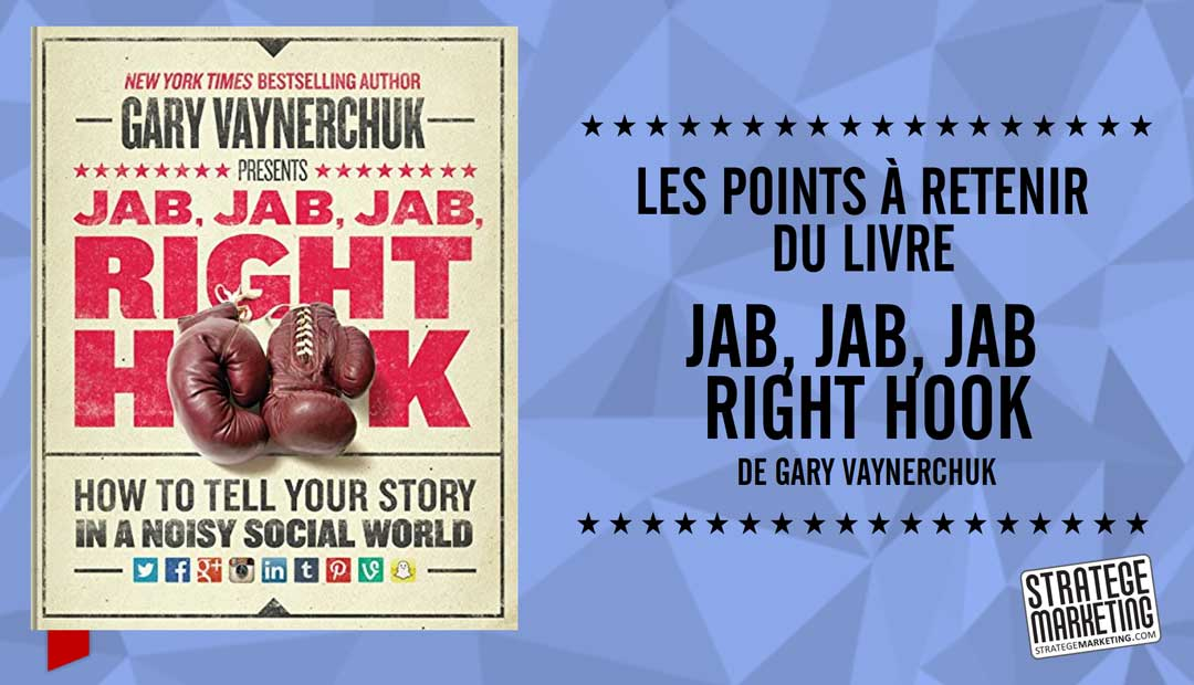 Jab Jab Jab Right Hook de Gary Vaynerchuk – les points à retenir du livre