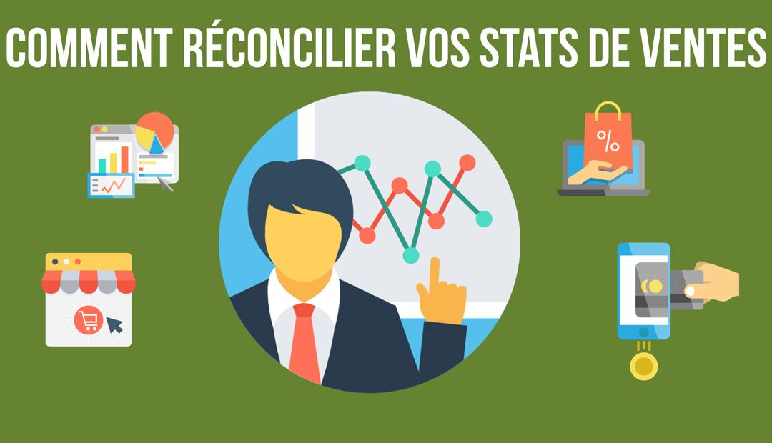 E-Commerce – Comment réconcilier vos statistiques de ventes